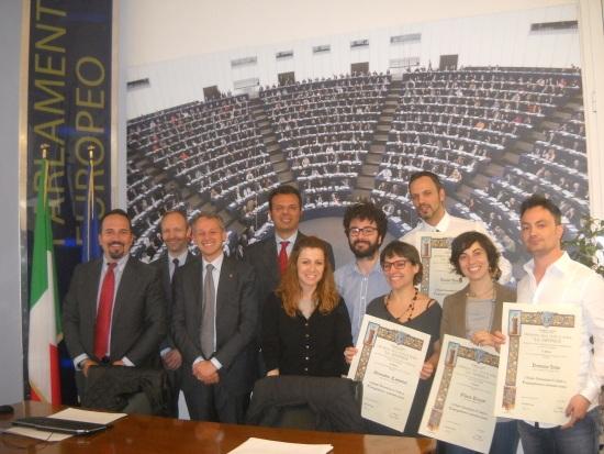 Consegna diplomi agli Europrogettisti 2013/14