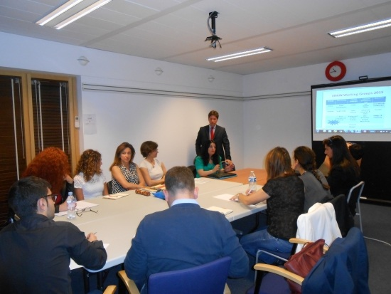 Nella sede di European Regions Research and Innovation Network