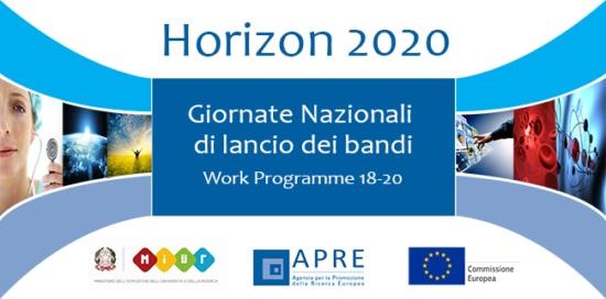 HORIZON 2020, a Roma le giornate nazionali di lancio dei bandi a cura di APRE