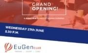 Inaugurazione di EuGen club, spazio di progettazione europea