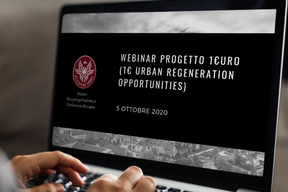 1€URO – 1€ Urban Regeneration Opportunities
